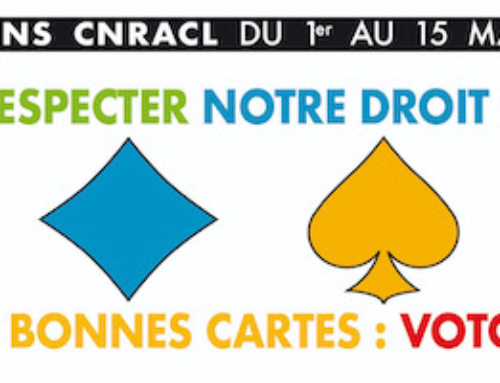 Élections CNRACL du 1er au 15 mars 2021