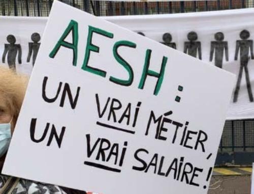 AESH : contre la précarité ! Action le 8 avril