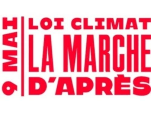 9 MAI : MARCHE CLIMAT